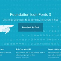 Use Foundation Icon Fonts in Reverie
